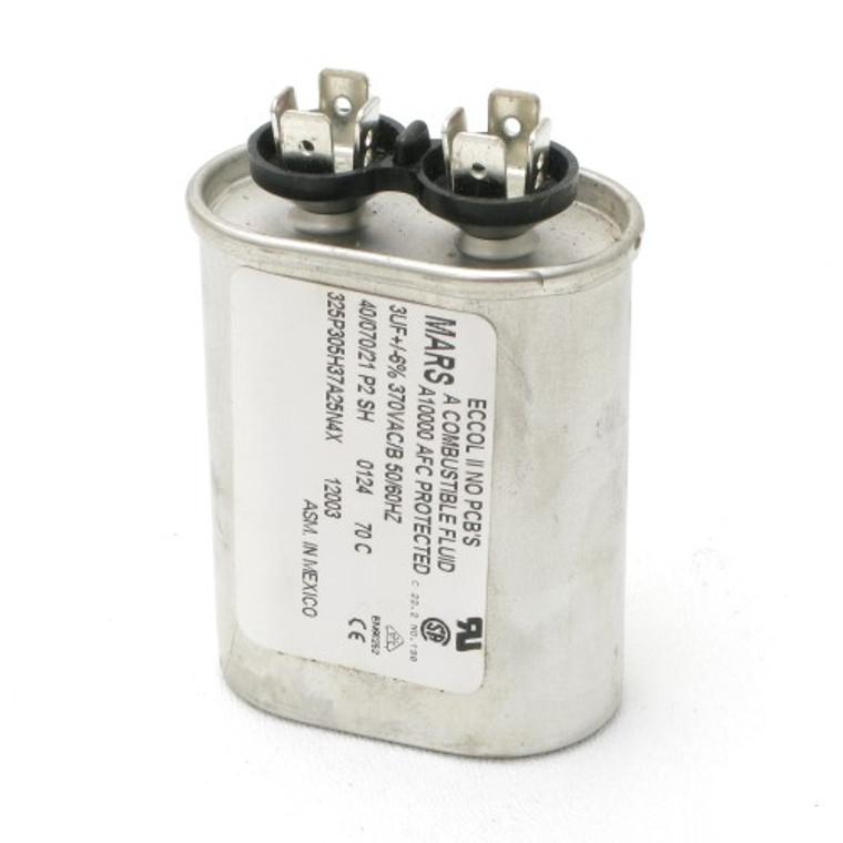 3 MFD 370 VAC Motor Run Capacitor