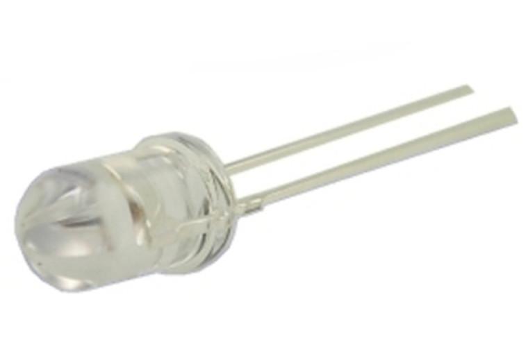 LED, Red Superbright 2000mcd T1-3/4 (5mm)