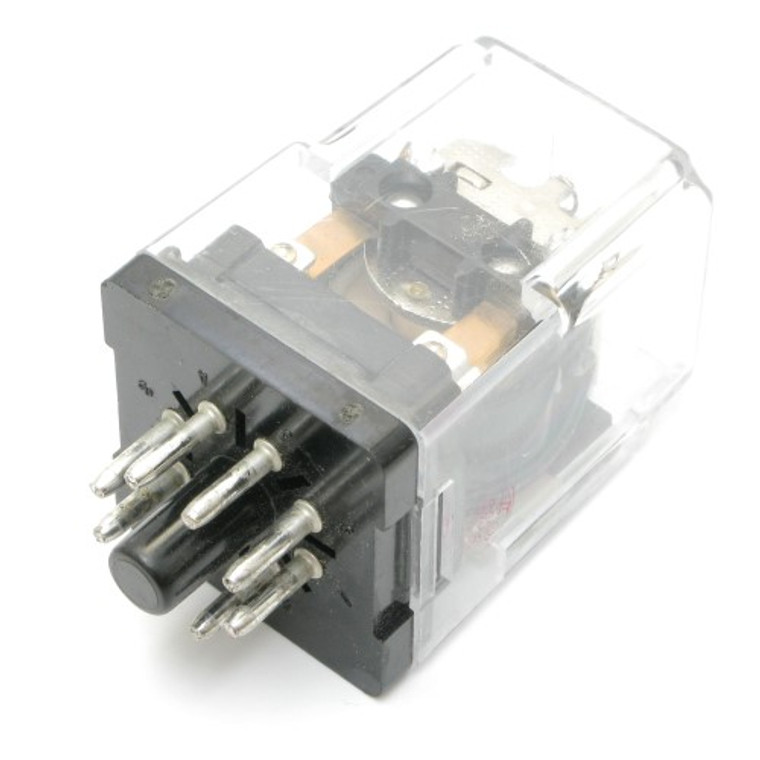 110 Volt DC Relay, DPDT 10 Amp
