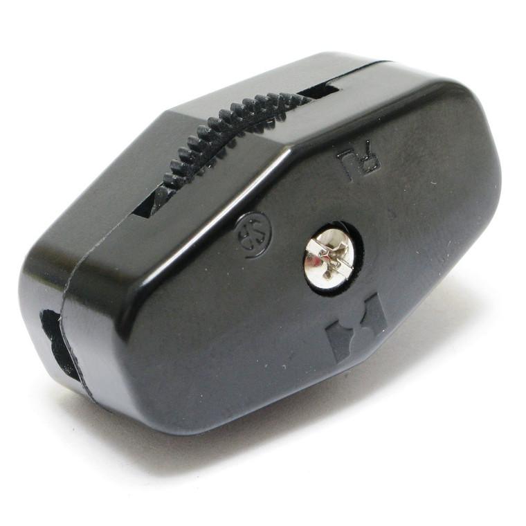 SPST Inline, Thumbwheel Actuator Switch