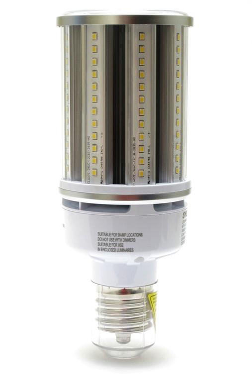 Sylvania 36 Watt LED Corn Bulb, Mogul Base, 5200 Lumens, 5000K
