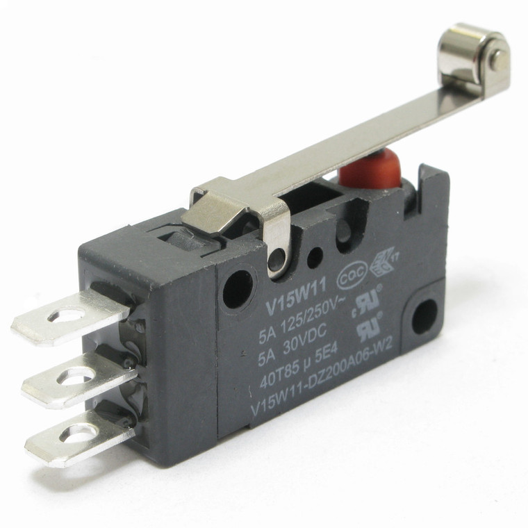 Miniature Snap Switch with Roller SPDT, Watertight