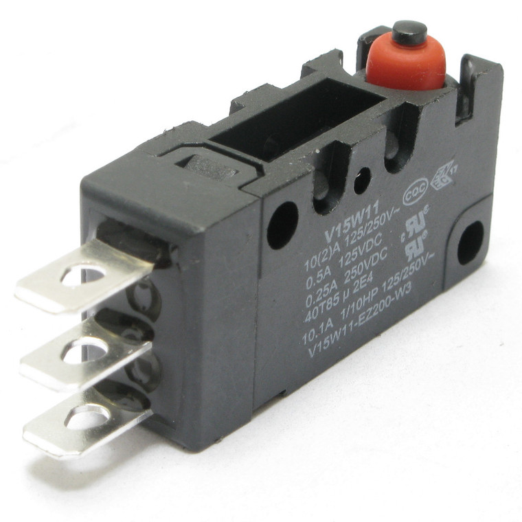 Watertight, Miniature Snap Switch with Pin Plunger SPDT