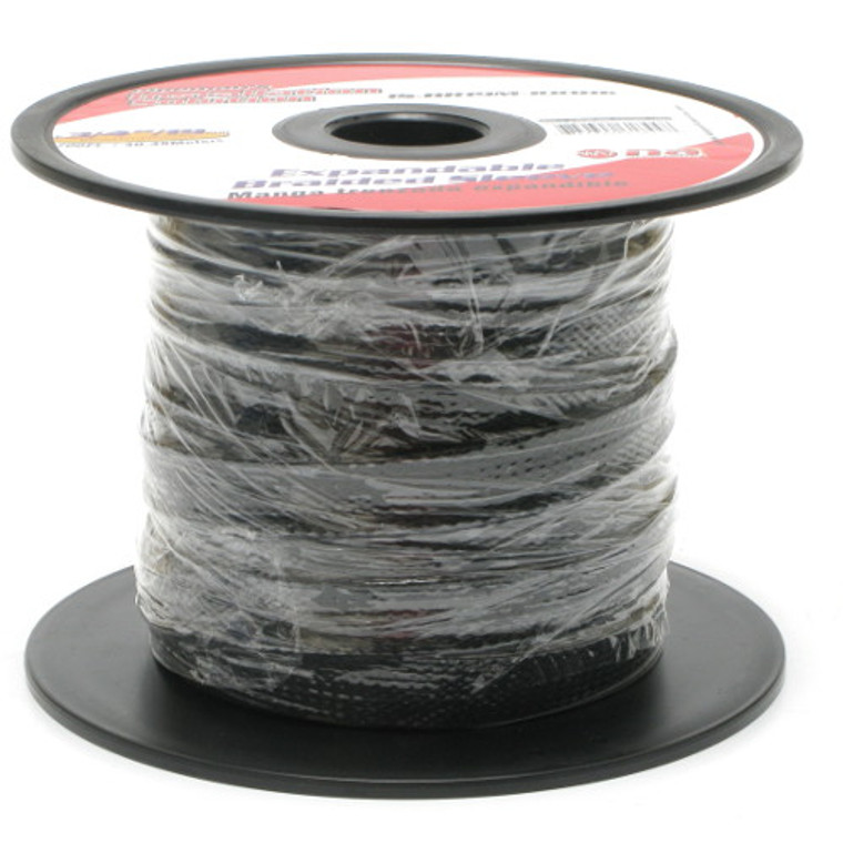 Expandable Braided Sleeving 3/4 Inch Black