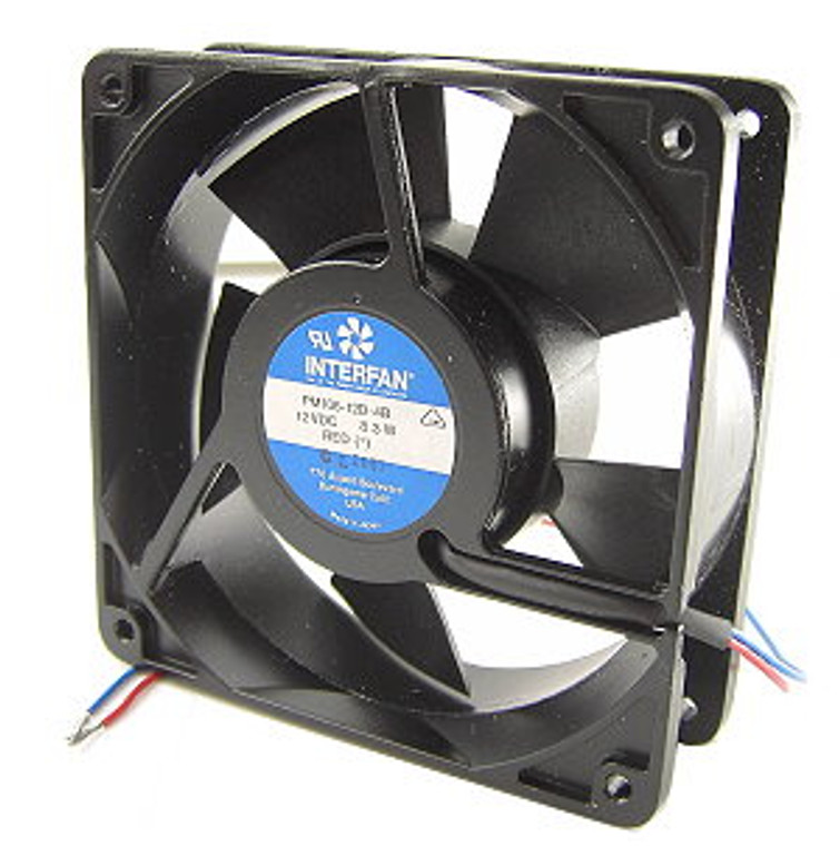 120 mm Square 12 VDC Fan