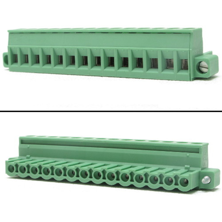Printed-circuit Board Connector, 14 Position