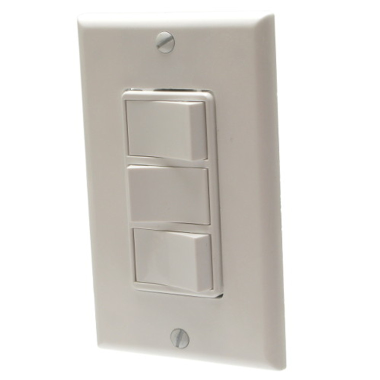 3-Function Control Wall Switch