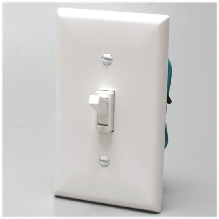 Toggle Dimmer 600-Watt 120 Volt AC White