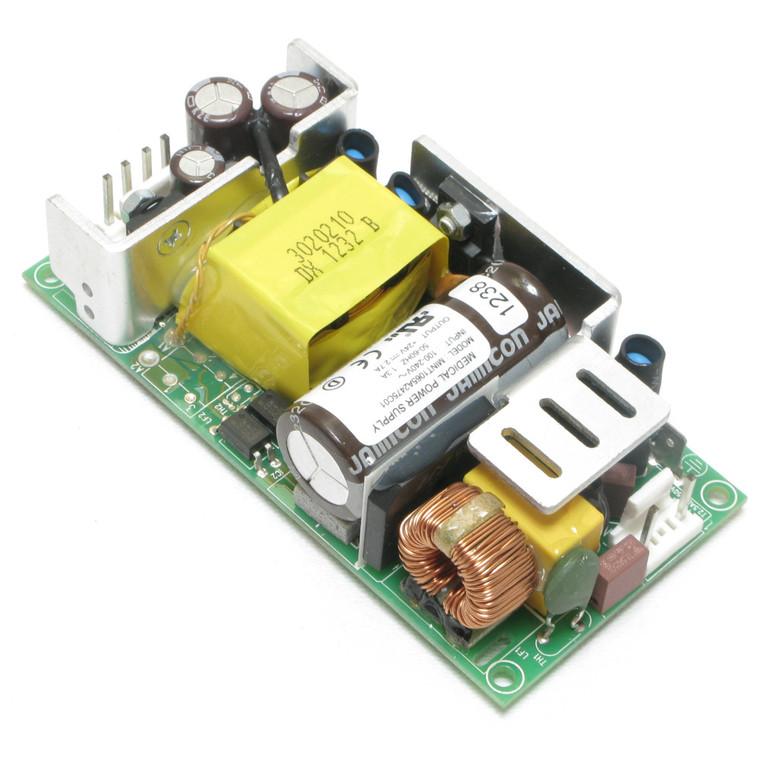 24 Volt DC, 2.7 Amp, Medical & ITE Power Supply, Open Frame