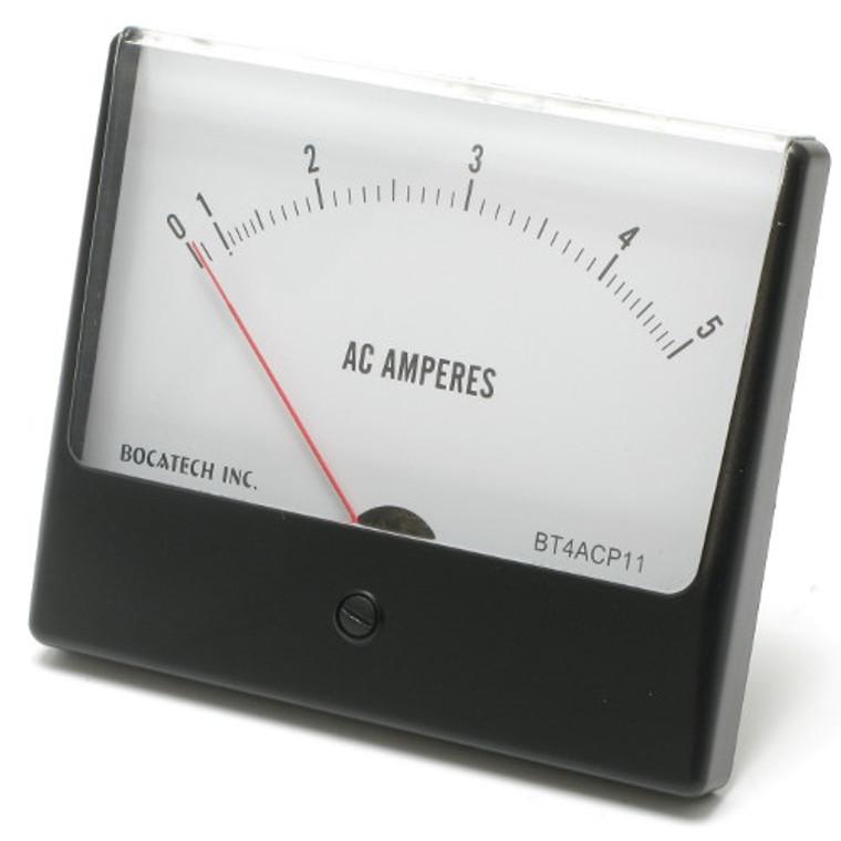 0 - 5 Amp AC Panaview Analog Panel Meter