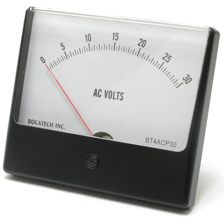 0 - 30 Volt AC Analog Panel Meter