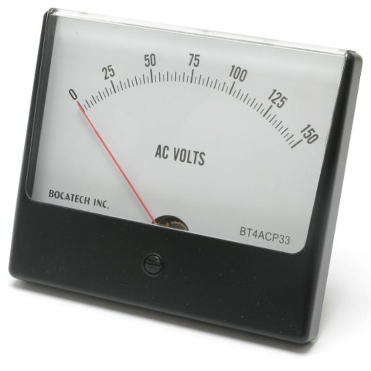 0 - 150 Volt AC Analog Panel Meter