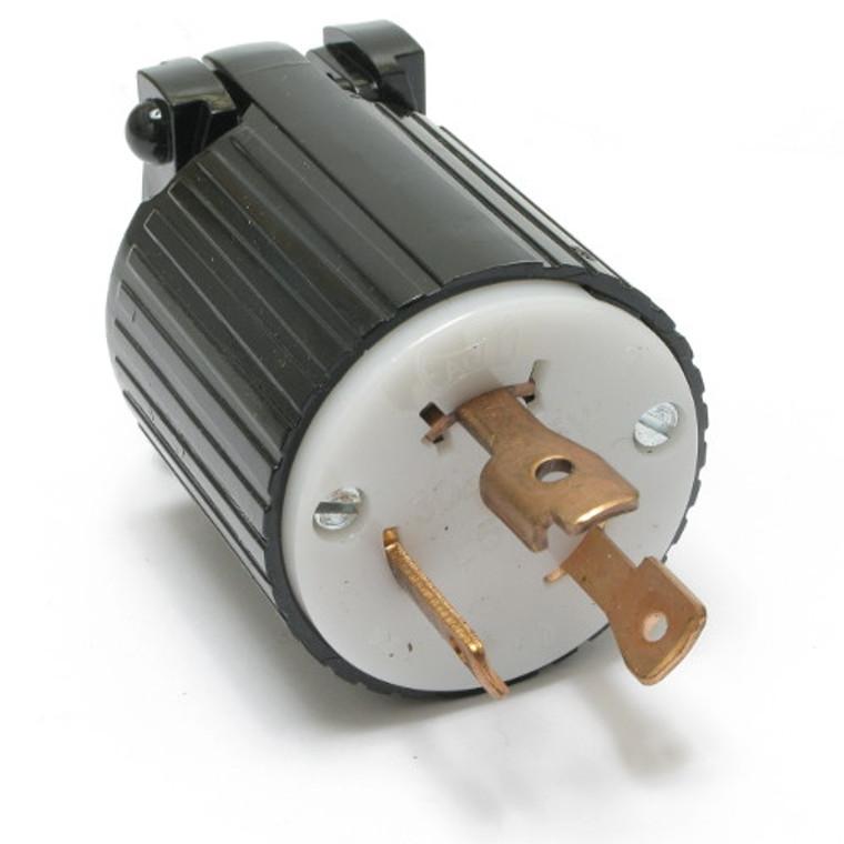 Turn & Pull 30 Amp 125 Volt 3 Wire Male Plug