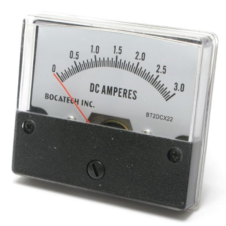 Meter 0-3 Amp DC