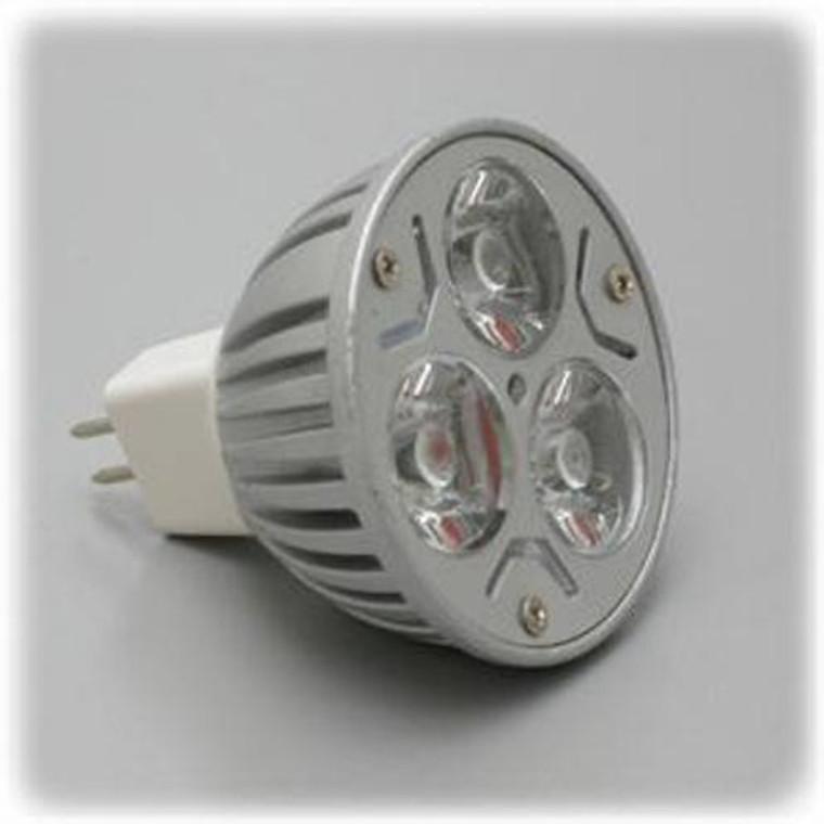 High Power LED MR-16 Bulb 12 Volt DC - Red