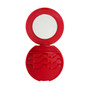Eyelash Travel Case with Mirror - Rouge Red