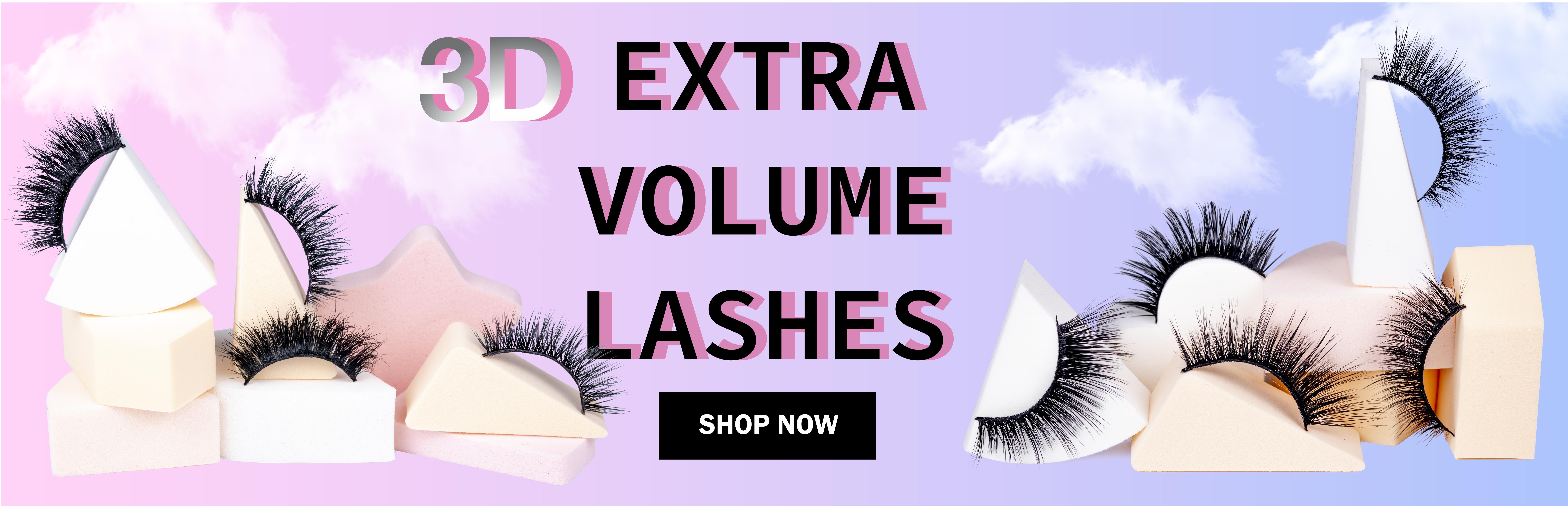 3D Extra Volume Lashes