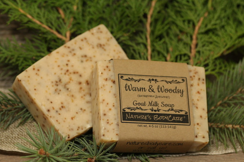 Warm & Woodsy Goat Milk Soap