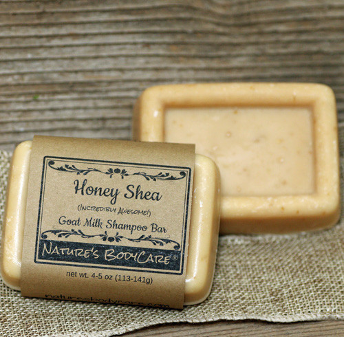 Goats Milk Shampoo Bar for People (& Pets too!)