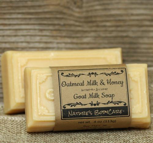 Oatmeal Milk & Honey Goat Milk Soap