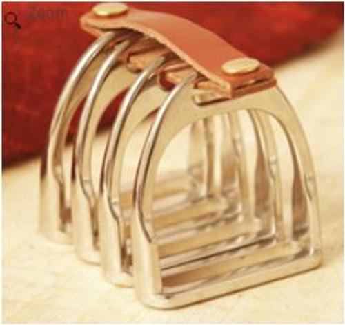 stirrup napkin rings silver