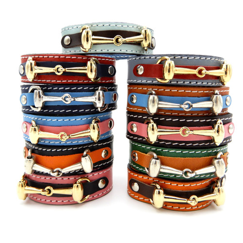 LILO Collections Bit Snap bracelets in silver and gold, assorted colors