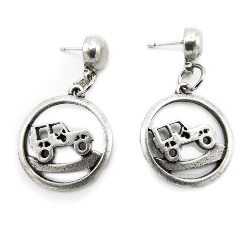 Jeep Cutout Stud Earrings