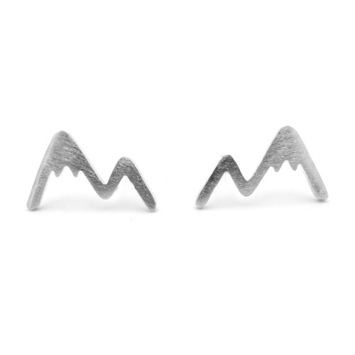 LILO Collections Mountain Trace earrings in silver