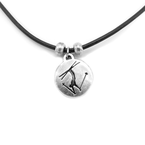 LILO Collections Freestyle Ski Disc necklace