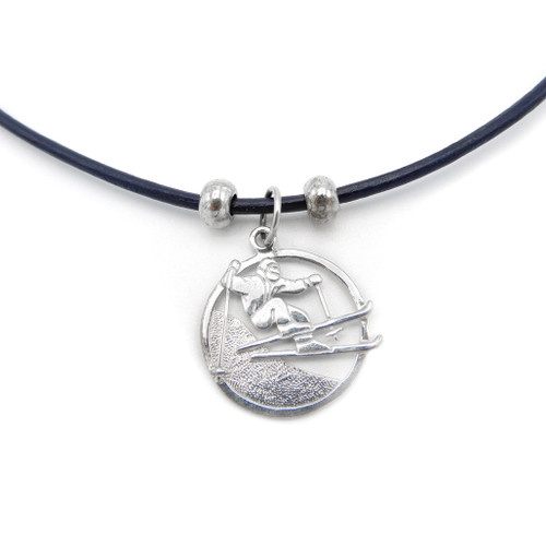 LILO Collections Skier Cutout Skinny necklace