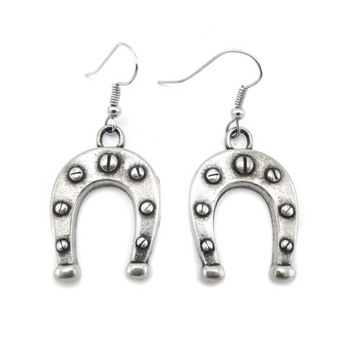LILO Collections Large Horseshoe Earrings