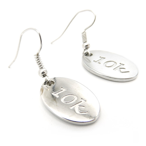LILO Collections 10k Earrings with oval charms