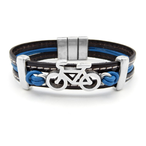 LILO Collections Denver Bracelet in Black/Blue