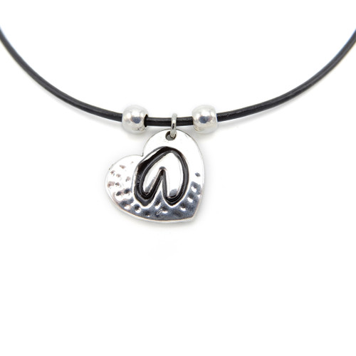 LILO Collections Hoof Love Skinny necklace, pictured on black cord