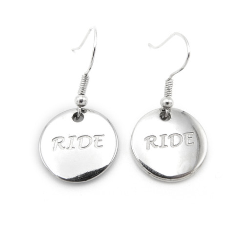 LILO Collections Ride Disc Earrings