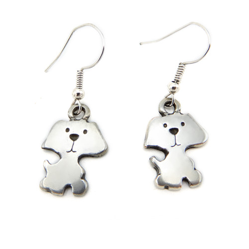 LILO Collections Puppy Earrings