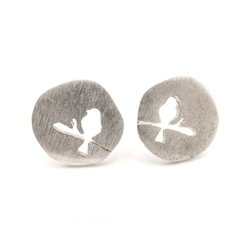 LILO Collections Birdie Cutout Studs
