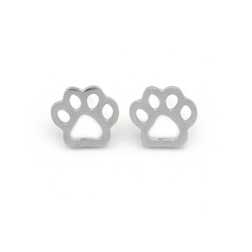 LILO Collections Paw Silhouette Studs