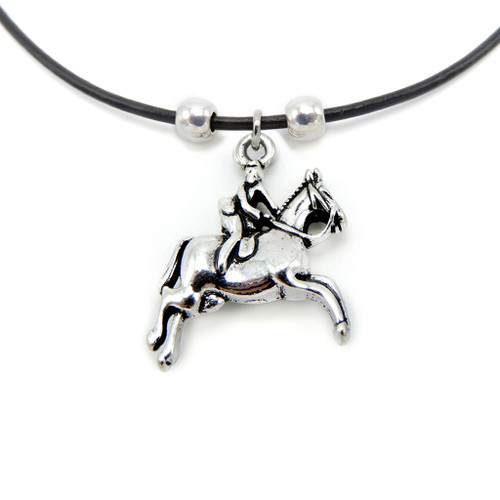 LILO Collections Half Seat Rider Skinny necklace