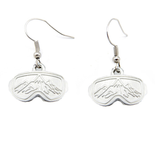 LILO Collections Goggle Mountain earrings