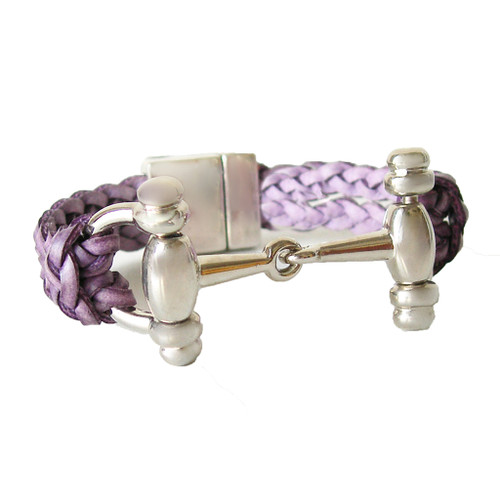 LILO Collections Desoto bracelet in purple