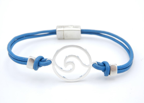 Wave Cutout Skinny Bracelet