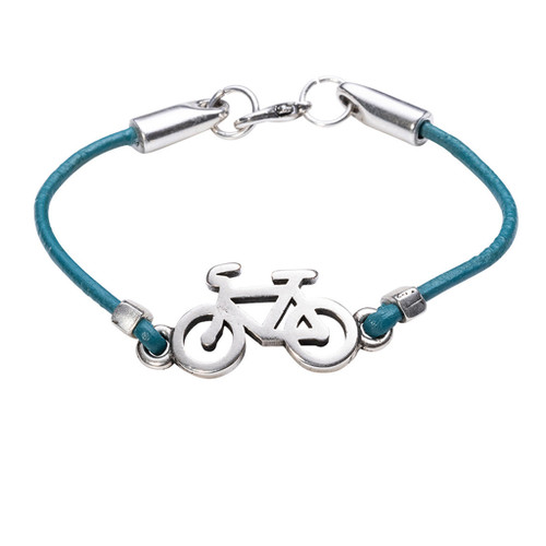 LILO Collections Victoria bracelet, shown in Turquoise