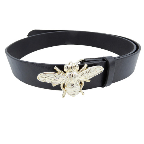 LILO Collections Bee Nice Belt on Vintage Black Strap