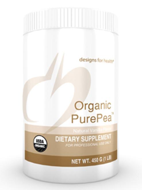 Organic PurePea Vanilla 450 grams (OPPVAN)