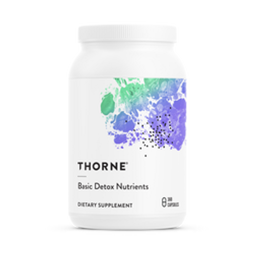 Basic Detox Nutrients 360 Caps Thorne Research