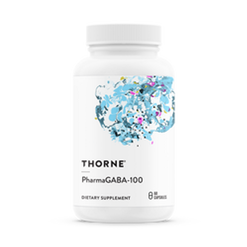PharmaGABA-100 60 Caps Thorne Research