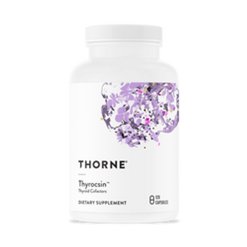 Thyrocsin 120 Caps Thorne Research