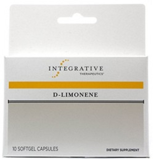 D-Limonene 10 Softgels (79110)