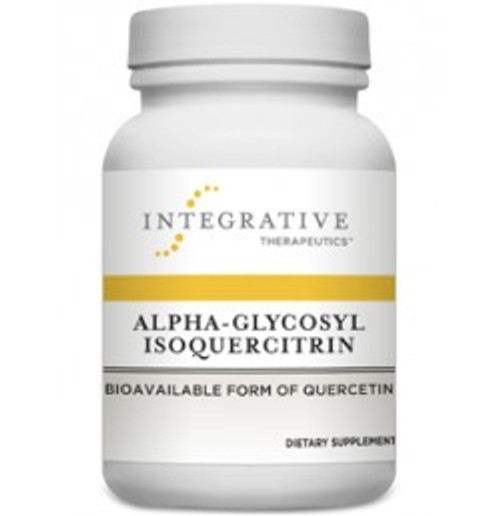Alpha-Glycosyl Isoquercitrin 60 Capsules (10003)